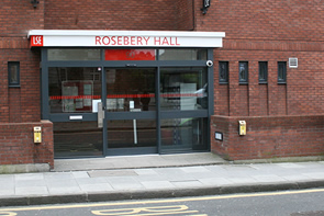 LSE Rosebery Hall main entrance